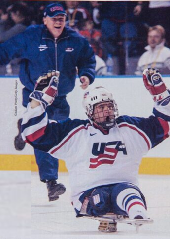 Rick Middleton and the 2002 US Paralympic Team